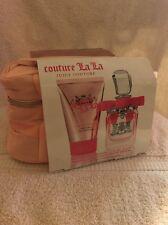 NIB! Juicy Couture Couture La La Eau De Parfum Spray Gift Set 50ml