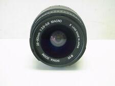 Sigma  Lens  28-80 mm F 3.5-5.6 Mini Zoom Macro for Minolta AF