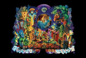 "Alice In Wonderland Poster 24"" X 36"""