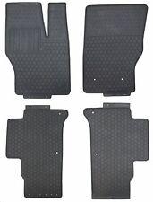Floor Mats for 2014 Up Range Rover Sport Custom Fitment Black Rubber All Weather