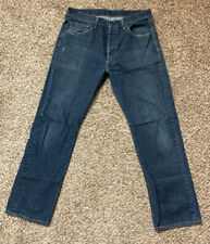 Levi's 501 Straight Leg Buttons Fly Jeans Size 33X30