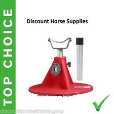 New HOOFJACK red medium size farrier stand, Hoof Jack includes DVD natural trim