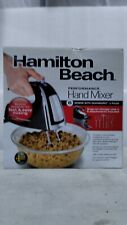 Hamilton Beach Hand Mixer With Snap-On Case 62620C Black With Stainless