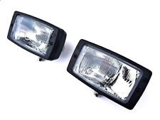 2x Hauptscheinwerfer universal Fernlicht Abblendlicht Positionlicht Traktor SET