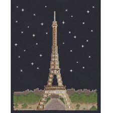 DMC brillare nell' d'architecture PARIGI DI NOTTE CROSS STITCH KIT l'onorevole X Stitch