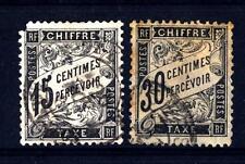 FRANCE - FRANCIA - Segnatasse - 1881/1892 - Nuovo tipo. Valore in un cartiglio