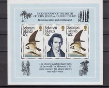 TIMBRE STAMP BLOC ILES SOLOMON Y&T#18 OISEAU BIRD  NEUF**/MNH-MINT 1985 ~A92
