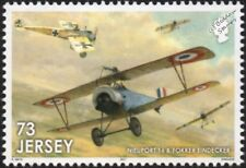 WWI RAF NIEUPORT 16 & FOKKER EINDECKER Aircraft Stamp/2017 The Great War in Air
