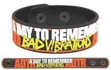 A DAY TO REMEMBER Rubber Bracelet Wristband Bad Vibrations