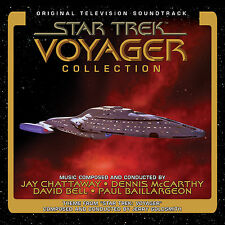 STAR TREK VOYAGER 4-CD Jerry Goldsmith Chattaway McCarthy LA-LA LAND Score NEW!