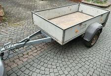 Pkw Anhänger Westfalia 750 kg zwei Jahre TÜV mit Heckklappe aus 1. Hand