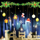 AU Christmas Home Window Glass Wall Decals Santa Claus Wall Sticker Removable