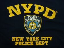 Officially Licenced NYPD New York Police Department Crime Scene XL T-Shirt