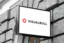 VisualBull.com PREMIUM Domain Godaddy .com Marketing Agency Visual Digital Arts