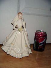 "Royal Doulton Figurine ""Bride"" Ivory Dress ~ HN3285 ~ 2nd Quality ~ Excellent"