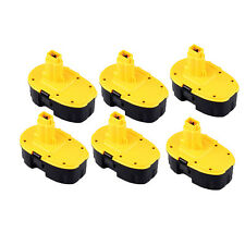 6X Battery for DeWalt DC390KA DC390KB DC410KA DC411B DC411KL DC490B 18 Volt