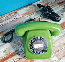Grünes Telefon Bundespost FeTAp 611-2 1985 Vintage Fernsprecher