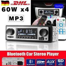 Retro Autoradio Mit Bluetooth Freisprech-einrichtung USB SD AUX MP3 1DIN OHNE CD