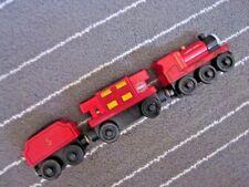 Set Thomas Friends wood Sodor Engine James & Music caboose  & Coal