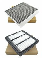 Engine Air and Carbon Cabin Air Filter Kit for 2007-2010 Hyundai Elantra L4 2.0L