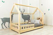 Bett für Kinder, Hausbett, Kinderhaus, Kinderbett Sicherheitbarrieren 7 Tage ?