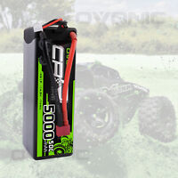 5000mAh 14.8V 4S 50C Lipo Battery Deans Plug Harcase For RC Car Axial Buggy FPV