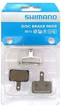 Genuine Shimano B01S Resin Disc Bicycle Brake Pads w/ Spring & Pin