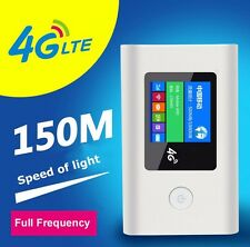 Unlocked 4G LTE WiFi Router with SIM Slot 2000mAh Portable 3g/4g Mobile Hotspot