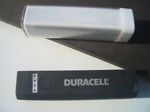 (1) DURACELL RECHARGEABLE PORTABLE POWER BATTERY MODEL PRO 509 1000 mA