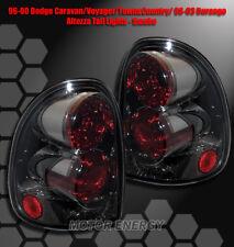 FOR 96-00 DODGE CARAVAN/VOYAGER/98-03 DURANGO TAIL BRAKE LIGHTS REAR LAMPS SMOKE