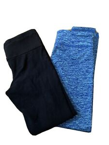 Girls Lot Of 2 Old Navy Active Leggings Size M 8