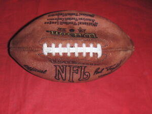 Vintage Paul Tagliabu Wilson Official NFL Mr Peanuts National American Football
