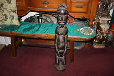 Antique African Hand Carved Wood Sculpture Male Fertility God LARGE Spiritual