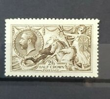 More details for gb king george v sg 406 2s6d yellow brown lightly m/mint