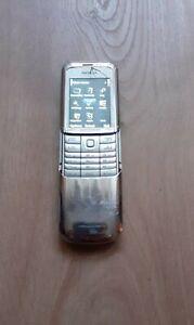 Nokia 8820 - Silver (Unlocked) Cellular Phone COLLECTIBLE RARE VINTAGE