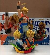 2pcs Set Dragon Ball Z Com Figuration GOGETA Figure Gokou Vegeta BANPRESTO