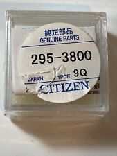 For Eco-drive, Mt920 Citizen 295-38 Capacitor Battery