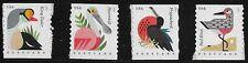US Scott #4995-98, Singles 2015 Coastal Birds VF MNH