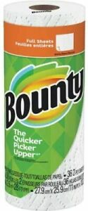 Bounty Paper Towels, White, Extra Absorbent, 36 2ply Sheets
