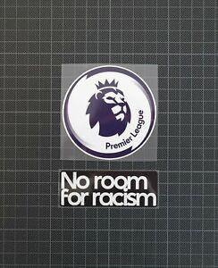 Premier League Blue Patches/Badges & No Room for Racism 2020-2022 EPL