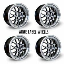 "White Label Type M 17"" x 8"" 5x100 et35 alloys fit VW Golf Mk4 97 - 03"