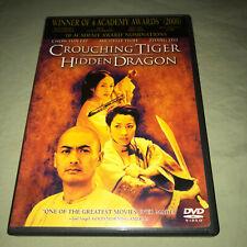 Crouching Tiger, Hidden Dragon Dvd Chow Yun Fat Michelle Yeoh Drama Movie