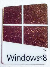 REPLACEMENT WINDOWS 8  STICKER LOGO AUFKLEBER 16x23mm [014]