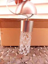 "Hart Lighting Velo LED Pendant Small 10.75 "" #1075SN Pendant Style NEW in Box"