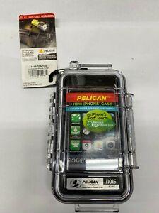 Clear Pelican i1015, 1015-015-100 Watertight iPhone Micro Case