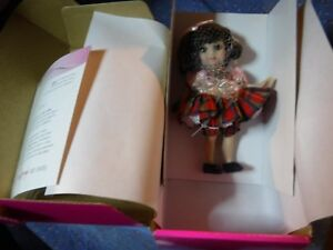 "NRFB (Light Box Wear) Marie Osmond September Vinyl Calendar Girl Doll About 6"" H"