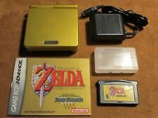 ++Nintendo GameBoy Advance SP AGS-101 -with Zelda Game & Manual - Free Ship!!!++