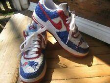 women custom nike glitter new england patriots Jersey shirt shoes/sneakers