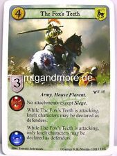 A Game of thrones lunaires - 1x the Fox 's thies #015 - the war of the Five Kings