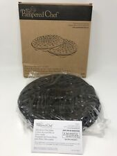 Pampered Chef Microwave Chip Maker - Set of 2 - #1241 - New in Box - Never Used